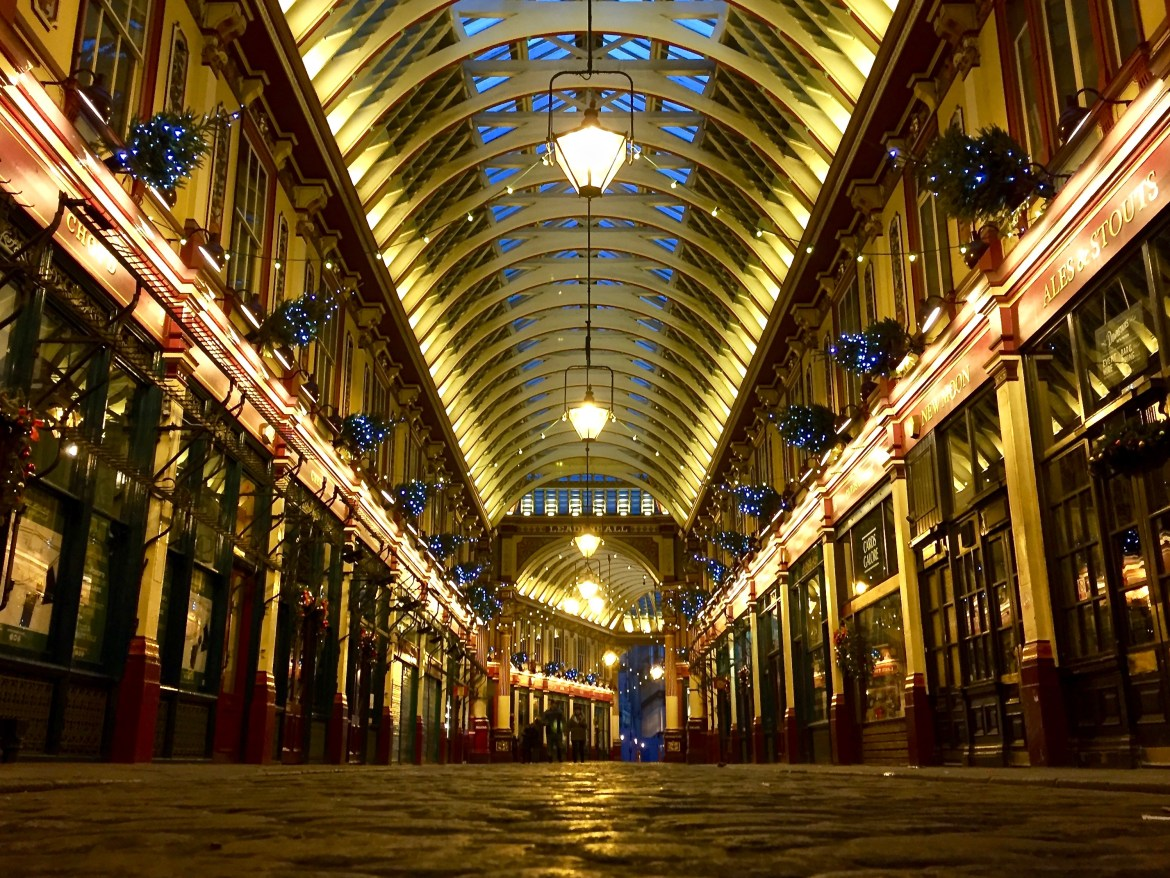 Harry Potter London with Kids #leadenhallmarket