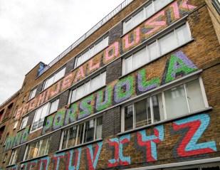 Shoreditch Street Art London #eine