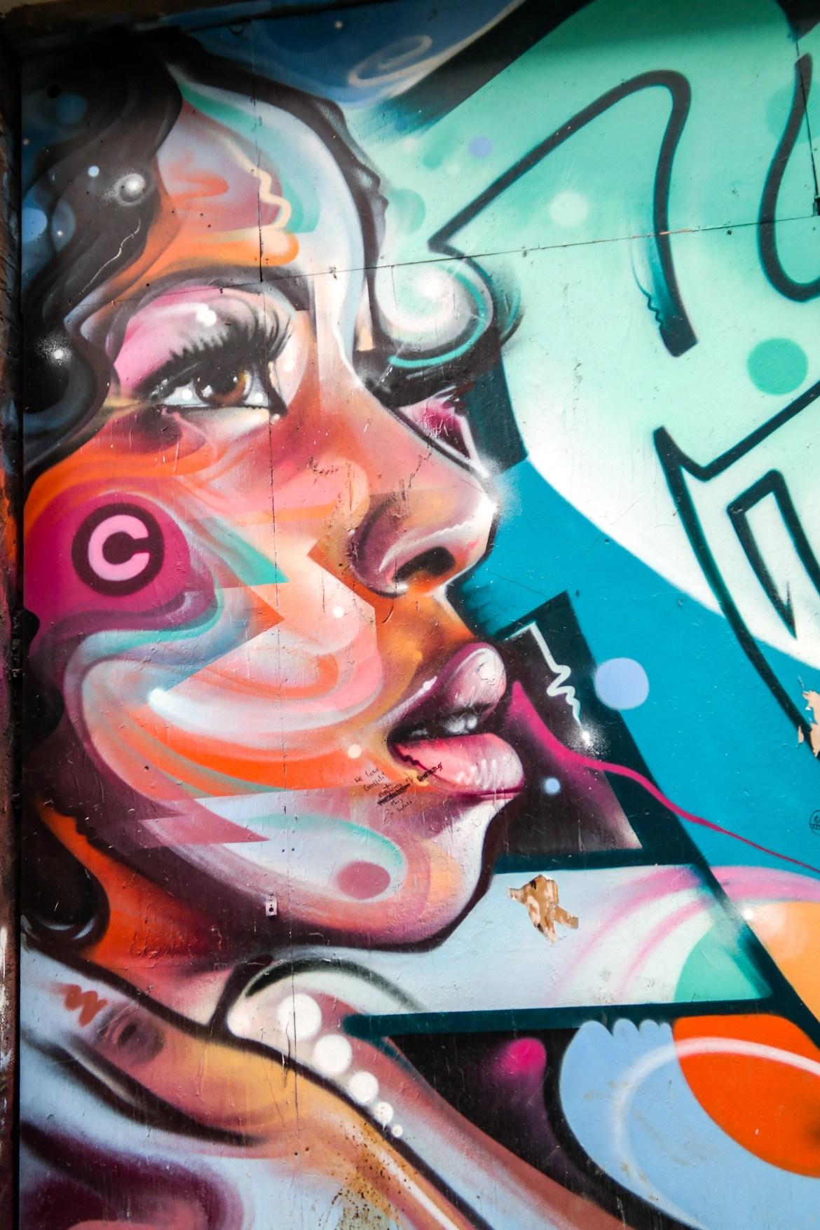 Shoreditch Street art London #cenz