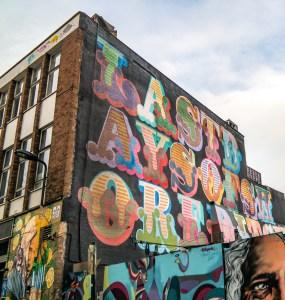 #einegraffiti Shoreditch Street Art London