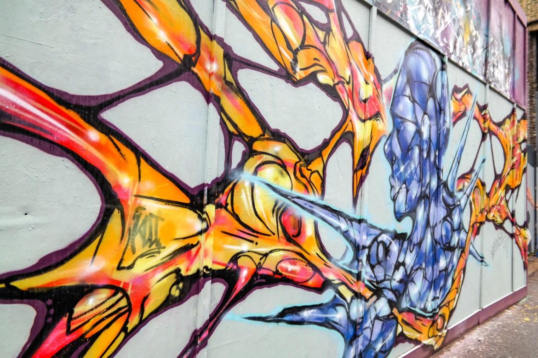 Shoreditch Street art tour London #shoreditch
