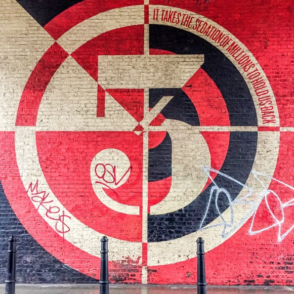 #shepardfairey #Obey Shoreditch Street Art London