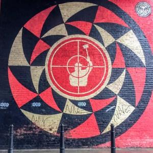 #shepardfairey #Obey Shoreditch Street Art London