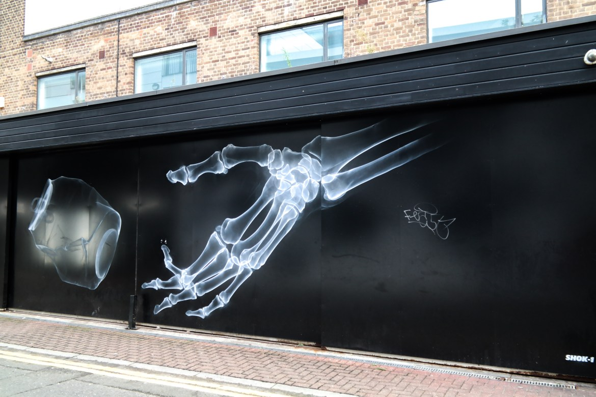 #shok1 Shoreditch Street Art London
