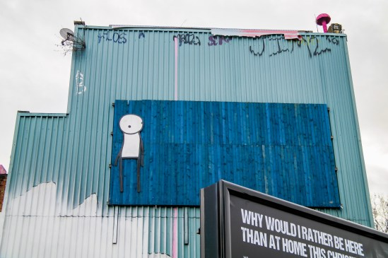 London Street Art Shoreditch #stik