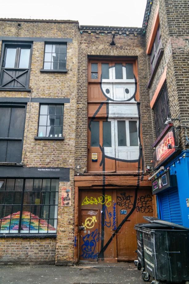 London Street Art Shoreditch #stik