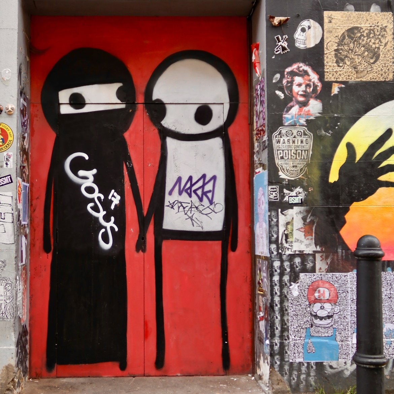 #Stik #streetart Brick Lane London