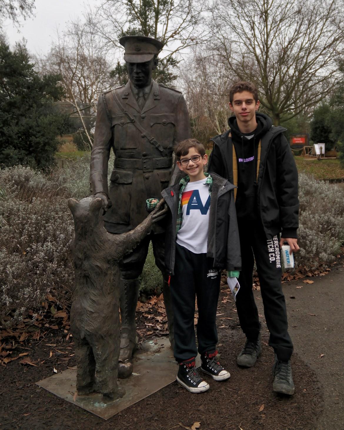 London with kids London Zoo #winniethepooh