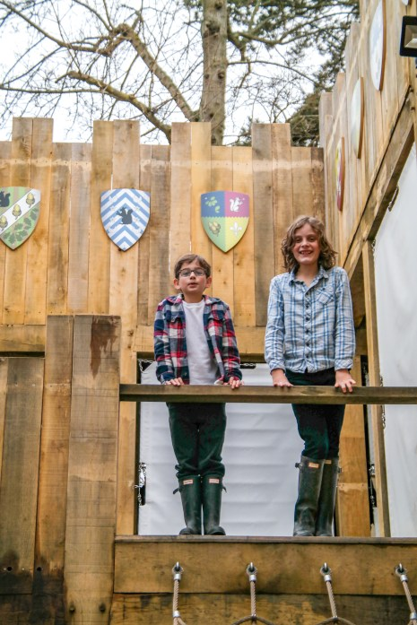 Hever Castle Adventure Playground Kent England United Kingdom