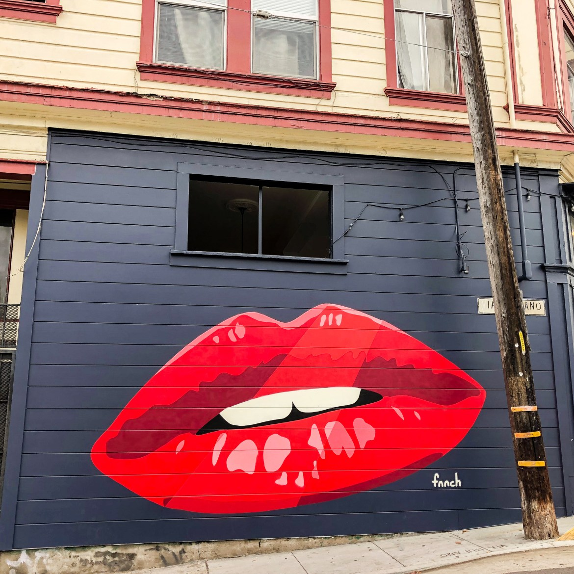 Fnnch Street Art San Francisco California