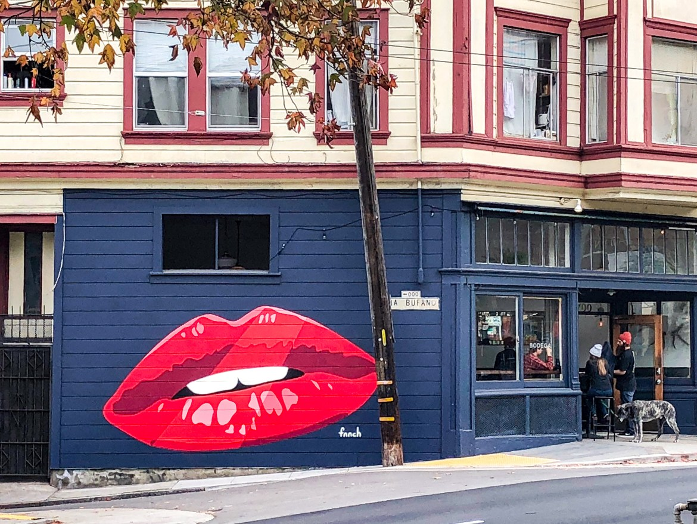 #Fnnch Street Art San Francisco California