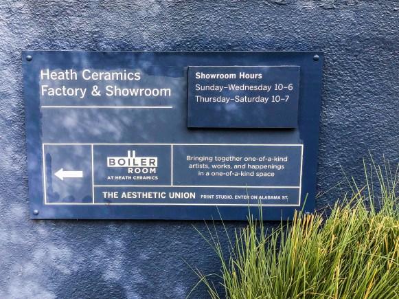 Heath Showroom San Francisco California