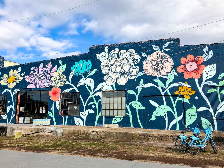 #ouizi street art on the BeltLine Atlanta Georgia