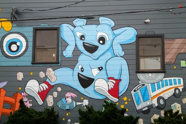 Street Art San Francisco California
