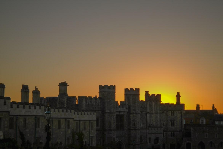 Windsor Castle England United Kingdom #sunsetwindsor
