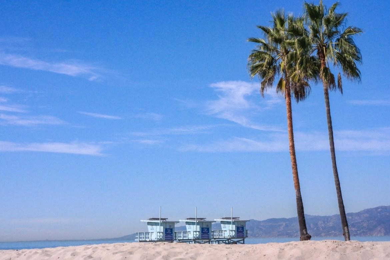 Venice Beach California Ocean Front Walk