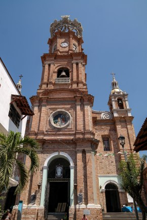 Old Town Puerto Vallarta Mexico