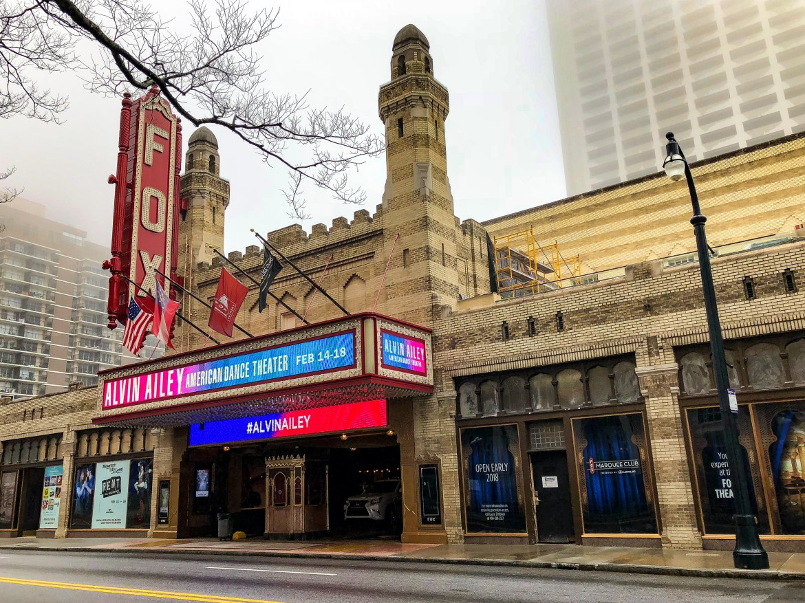 Things to do in Atlanta Georgia #historicfoxtheater