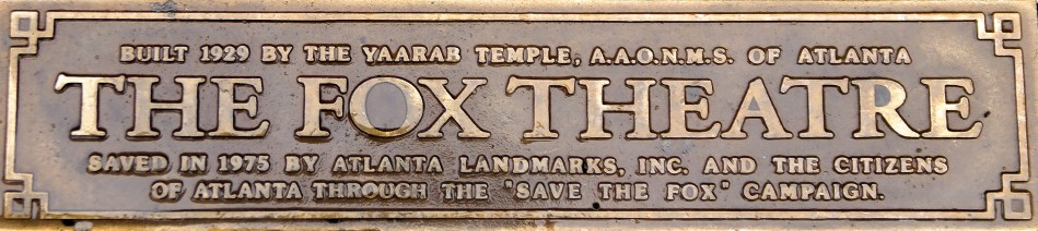 Save the Fox #historicfoxtheater