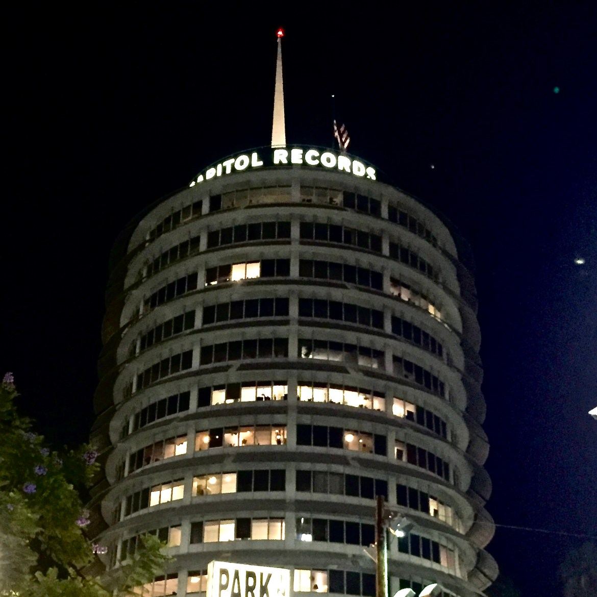 Capital Records Building Los Angeles California