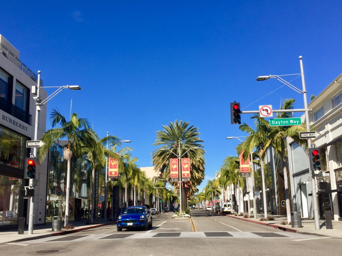 Rodeo Drive and Dayton Way