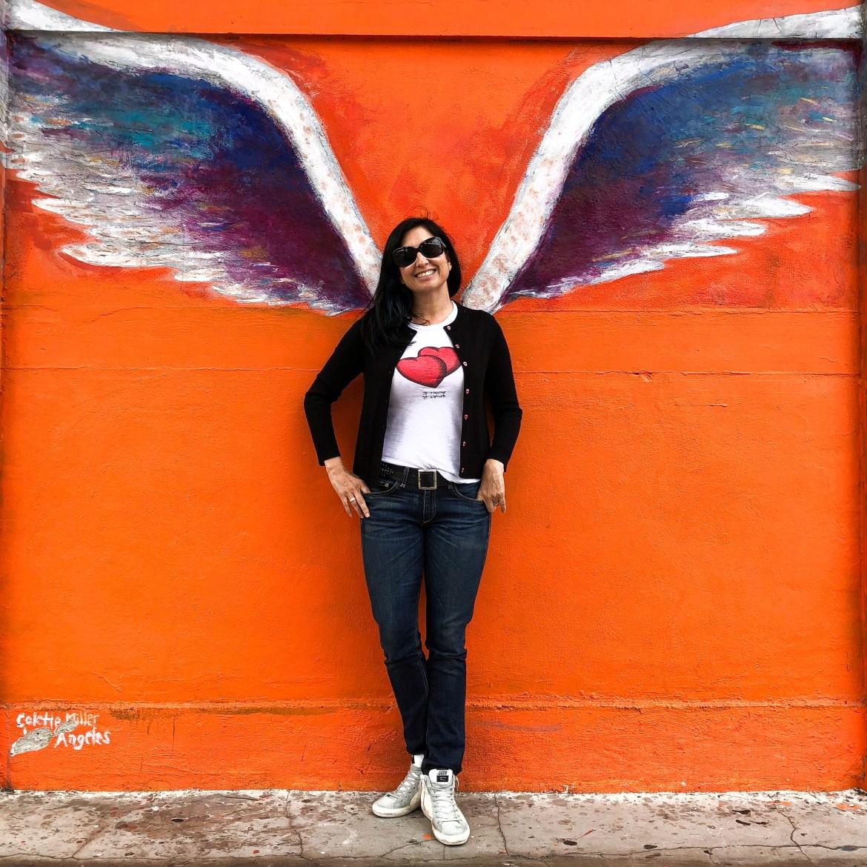 Colette Miller Angel Wings Guelaguetza