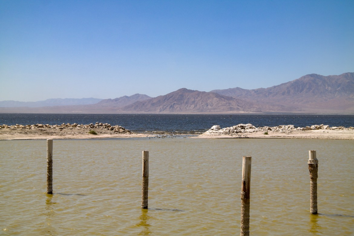 North Shore Beach Salton Sea California