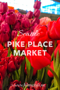 Pike Place Market with Kids Seattle Washington #familytravel #seattlewithkids #pikeplacemarket