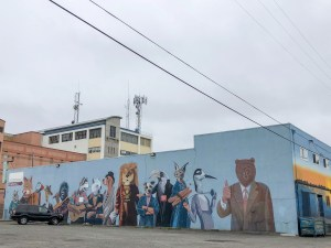 Street Art Eureka California