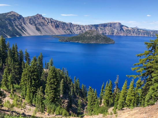 Wizards Island Crater Lake Oregon