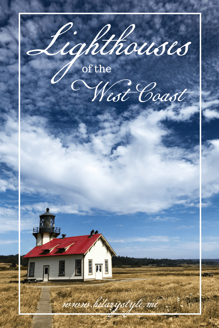 Lighthouse Tour of the West Coast #lighthouse #familytravel #northerncalifornia #oregon #familyroadtrip