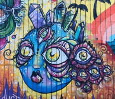 Street Art Alley Alberta Arts District Portland Oregon