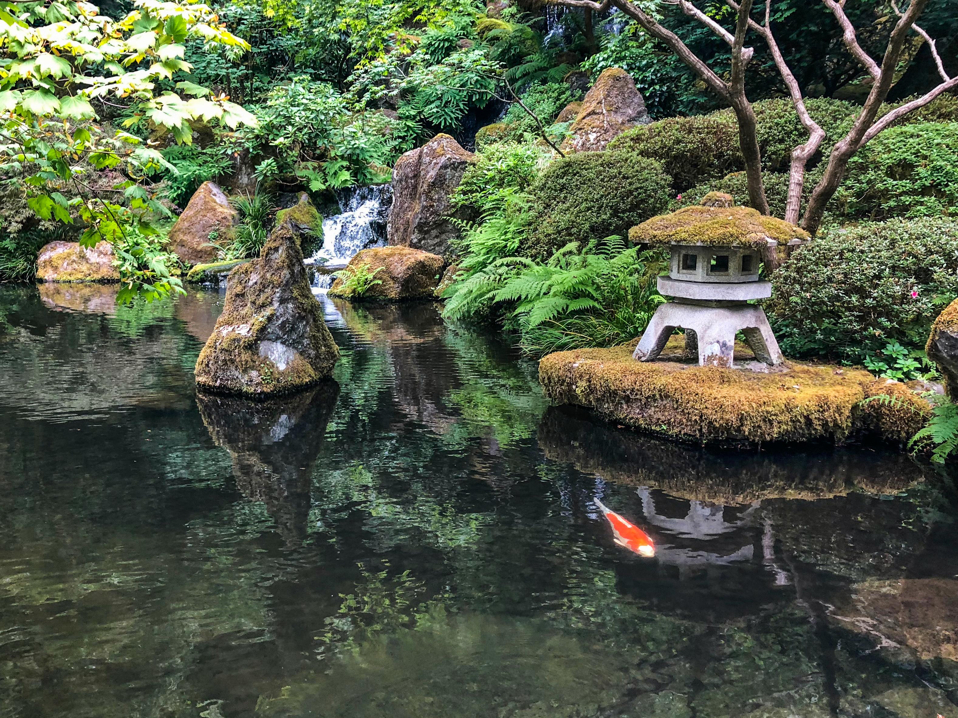 Japanese Garden Portland Oregon Hilarystyle