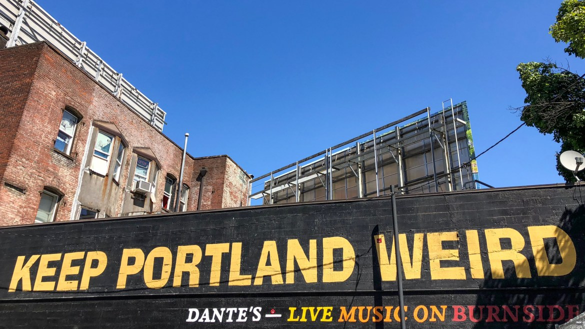 #keepportlandweird Keep Portland Weird Mural Portland Oregon
