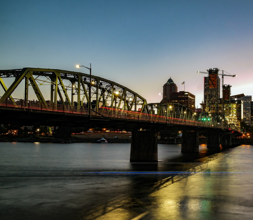 Hawthorne Bridge Portland Oregon