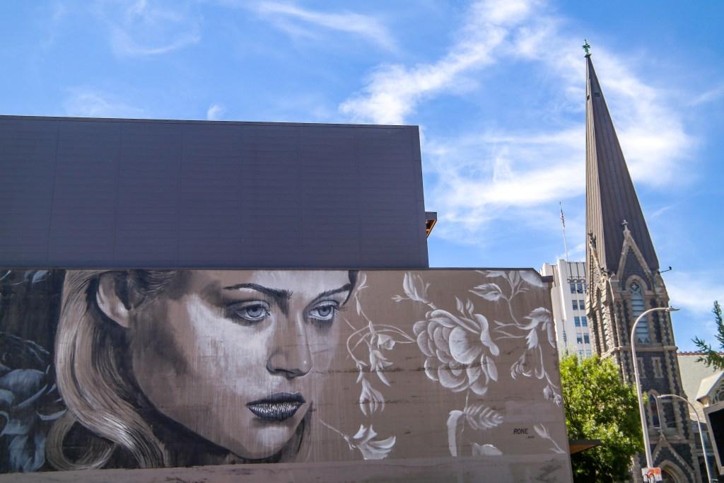 #rone Street Art Portland Oregon