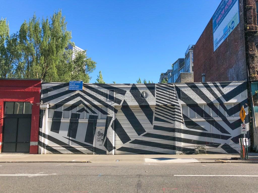 Street Art Downtown Portland Oregon