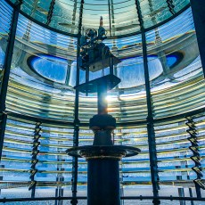 The Yaquina Head Lighthouse Lens