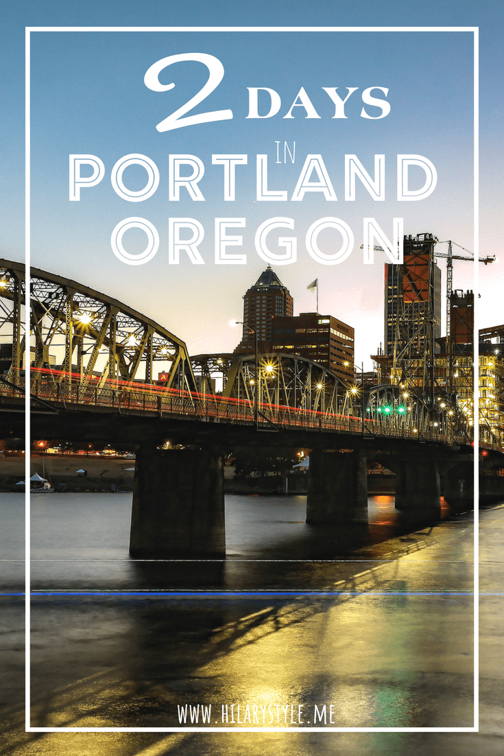 Two days in Portland Oregon with Kids #familytravel #oregon #portlandoregon
