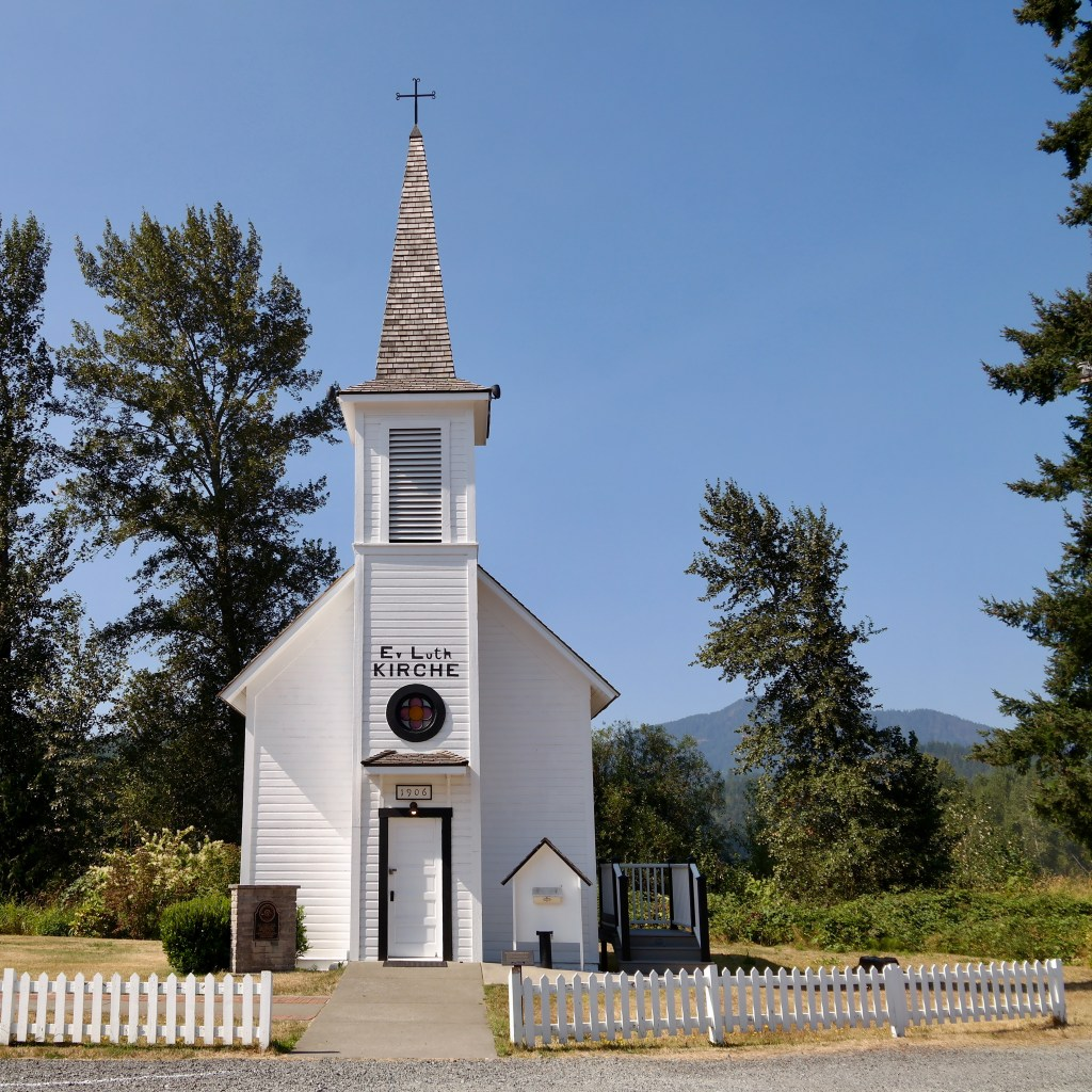 Elbe Lutheran Church Washington