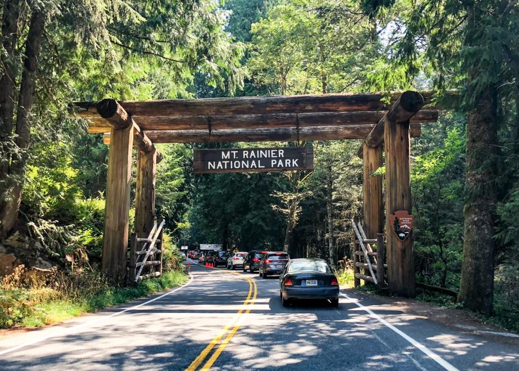 Mount Rainier National Park Washington Nisqually Entrance