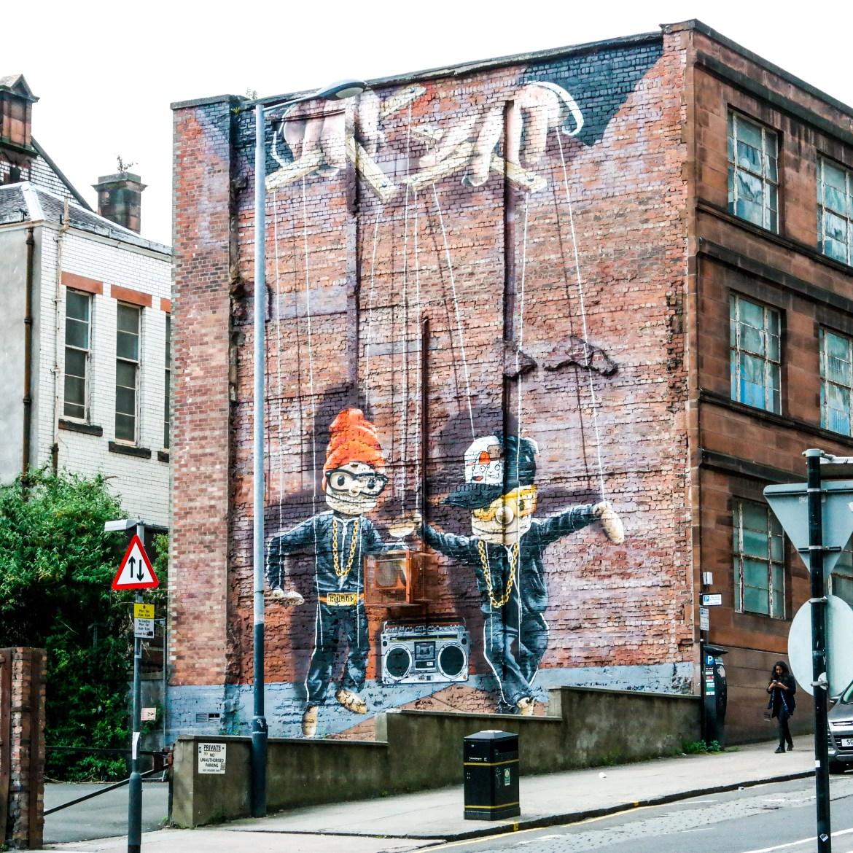 Mural Trail Glasgow Scotland