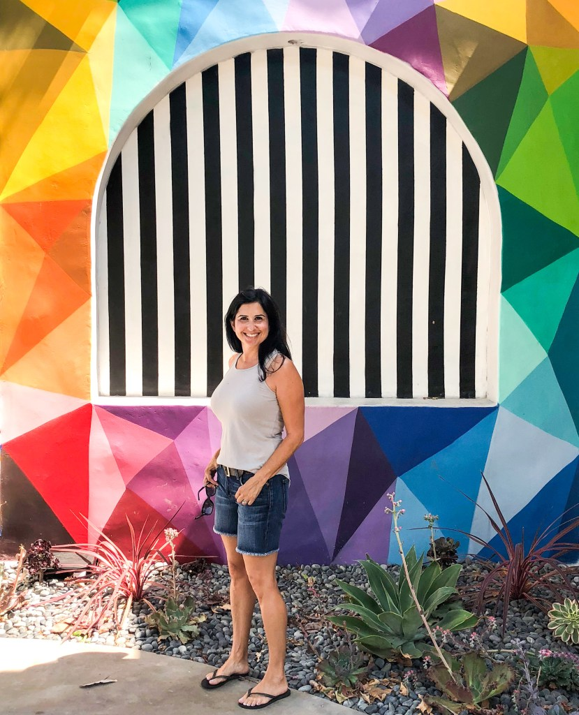 Laguna Arts District Laguna Beach California #okuda