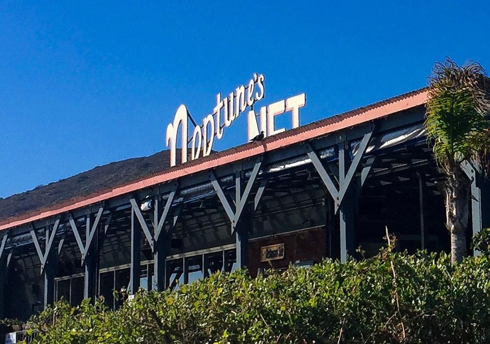 Neptune's Net Malibu California