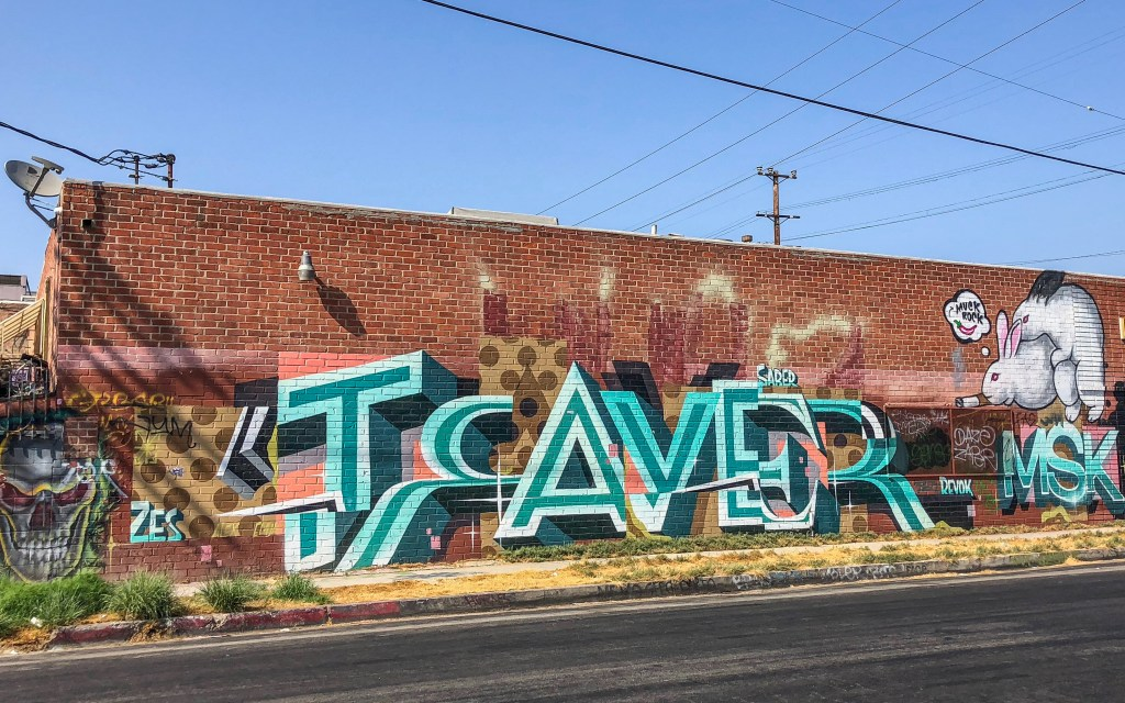 Arts District Downtown Los Angeles California #traver