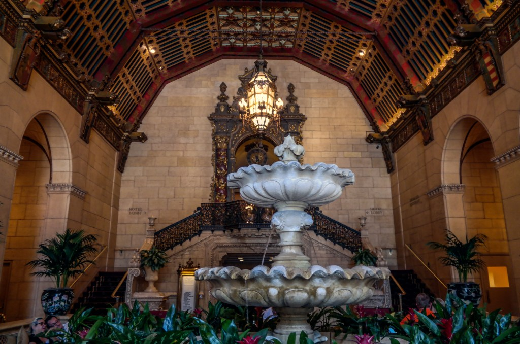 The Millennium Biltmore Hotel Lobby Los Angeles California #hauntedla