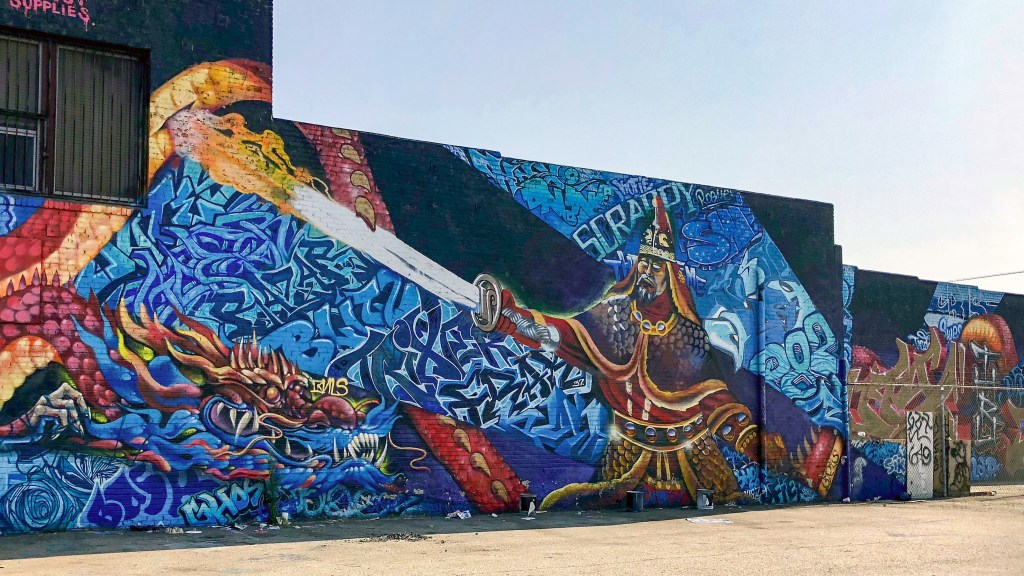 Arts District Downtown Los Angeles California #uticrew
