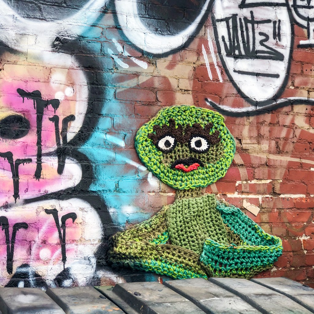 Arts District Downtown Los Angeles California #yarnbomb