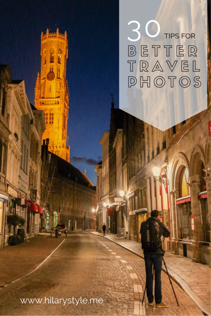 30 Tips for BETTER travel photos