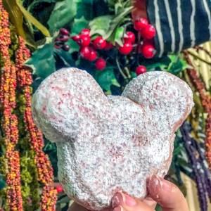 Peppermint Beignets Disneyland #disneylandholiday